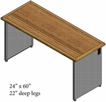 1200 WT Work Surface, 24x60