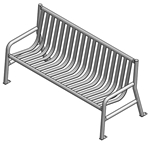 Steel Strap Benches