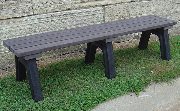 Recycled Plastic Lumber Benches Iowa Prison Industries - Picnic table recycled plastic lumber
