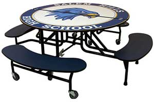 Palmer-Hamilton Cafeteria Table