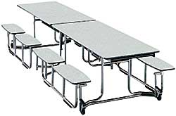 Uniframe Cafeteria Table